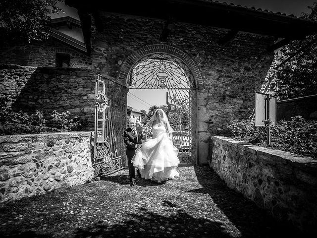 Il matrimonio di Matteo e Alessia a Brunello, Varese 24