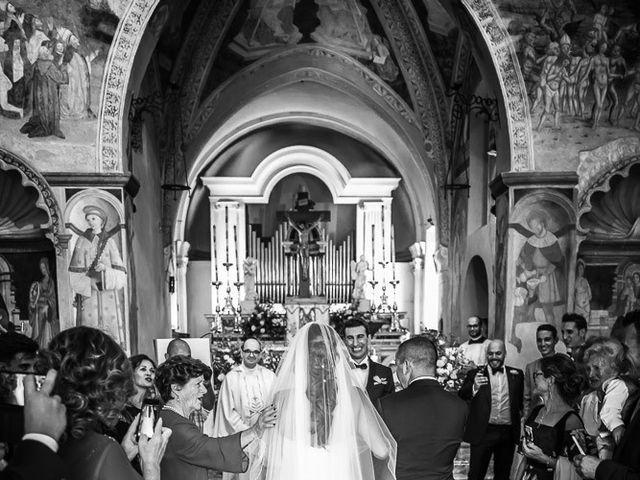 Il matrimonio di Matteo e Alessia a Brunello, Varese 26