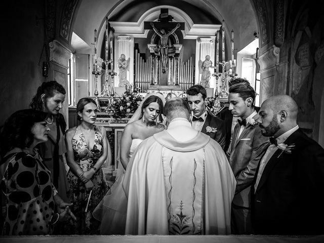 Il matrimonio di Matteo e Alessia a Brunello, Varese 35
