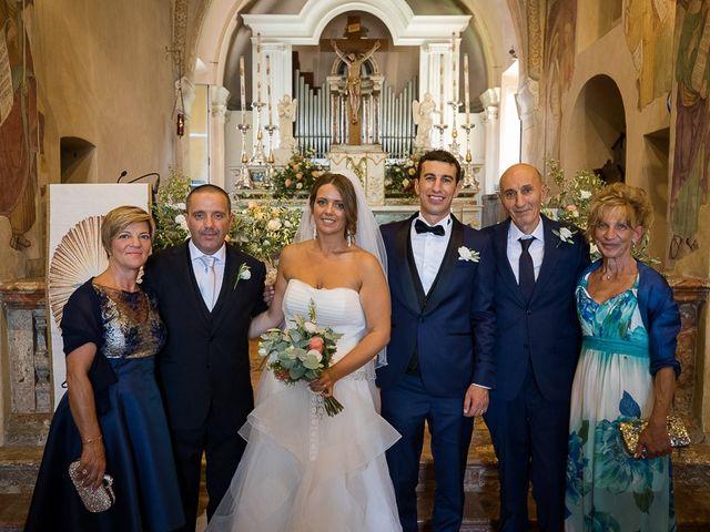 Il matrimonio di Matteo e Alessia a Brunello, Varese 36