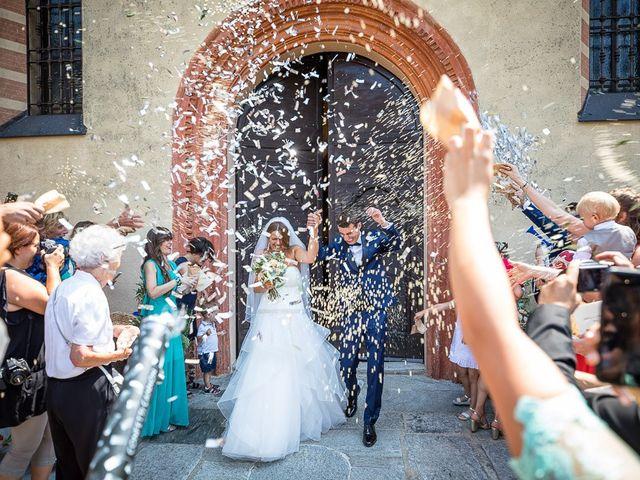 Il matrimonio di Matteo e Alessia a Brunello, Varese 38