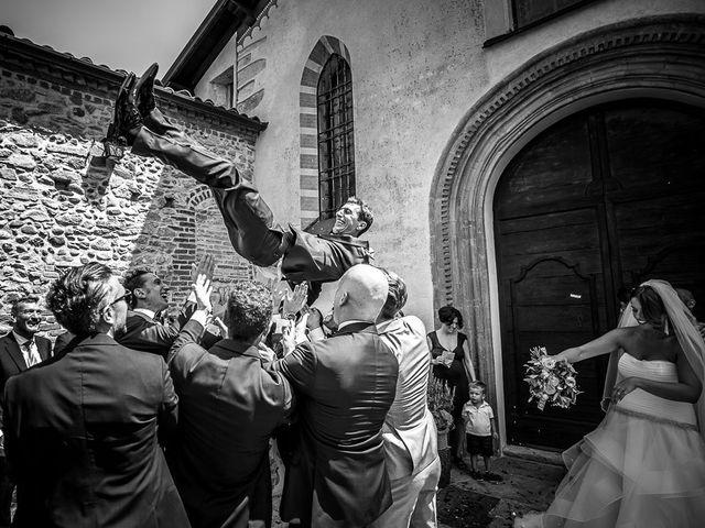 Il matrimonio di Matteo e Alessia a Brunello, Varese 40