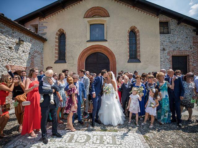 Il matrimonio di Matteo e Alessia a Brunello, Varese 41