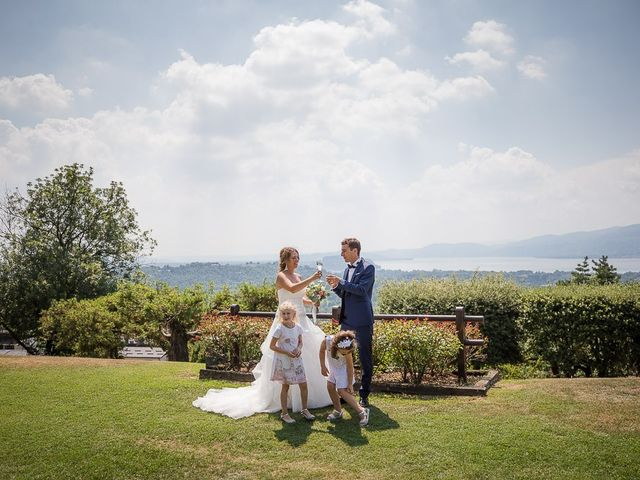 Il matrimonio di Matteo e Alessia a Brunello, Varese 45