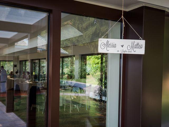 Il matrimonio di Matteo e Alessia a Brunello, Varese 55