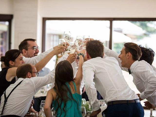 Il matrimonio di Matteo e Alessia a Brunello, Varese 59