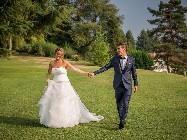 Il matrimonio di Matteo e Alessia a Brunello, Varese 76