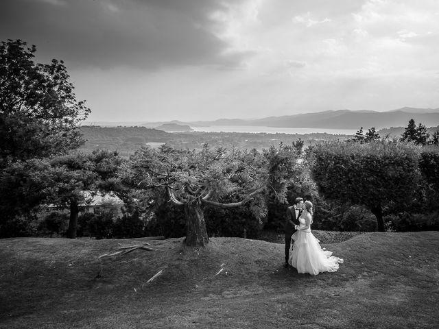 Il matrimonio di Matteo e Alessia a Brunello, Varese 77