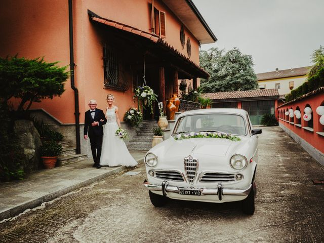 Il matrimonio di Gianluca e Jessica a Quaregna, Biella 26
