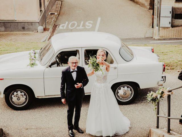 Il matrimonio di Gianluca e Jessica a Quaregna, Biella 28