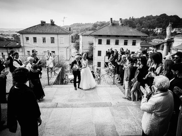 Il matrimonio di Gianluca e Jessica a Quaregna, Biella 30