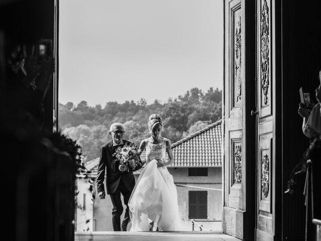 Il matrimonio di Gianluca e Jessica a Quaregna, Biella 33