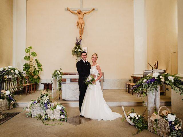Il matrimonio di Gianluca e Jessica a Quaregna, Biella 35