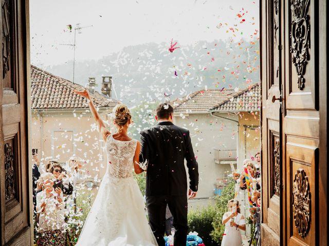 Il matrimonio di Gianluca e Jessica a Quaregna, Biella 36