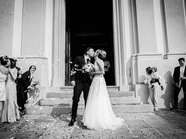 Il matrimonio di Gianluca e Jessica a Quaregna, Biella 37