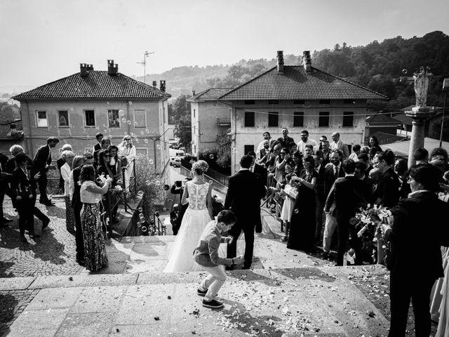 Il matrimonio di Gianluca e Jessica a Quaregna, Biella 39