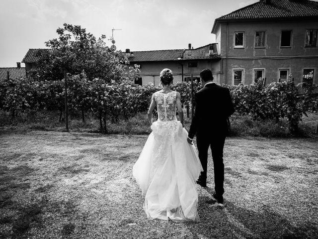 Il matrimonio di Gianluca e Jessica a Quaregna, Biella 48