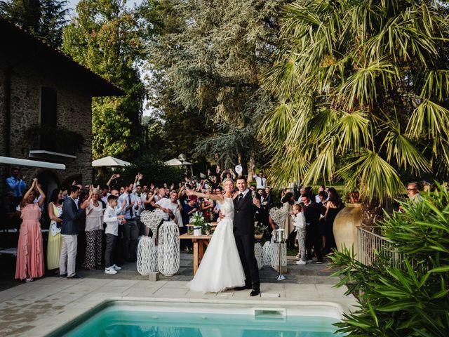 Il matrimonio di Gianluca e Jessica a Quaregna, Biella 84