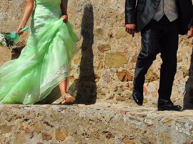 Il matrimonio di Francesco e Lucia a Campiglia Marittima, Livorno 30
