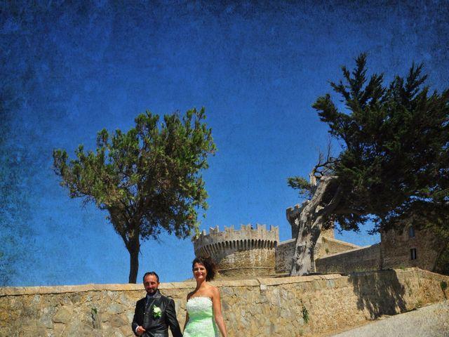 Il matrimonio di Francesco e Lucia a Campiglia Marittima, Livorno 34