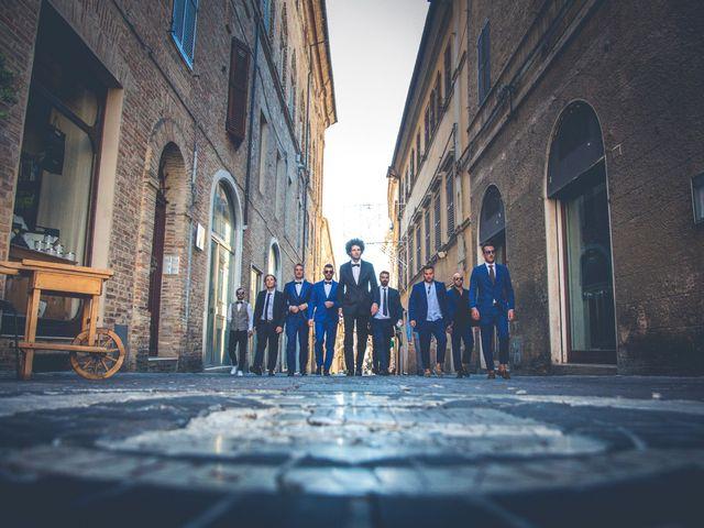 Il matrimonio di Filippo e Lucia a Corinaldo, Ancona 11