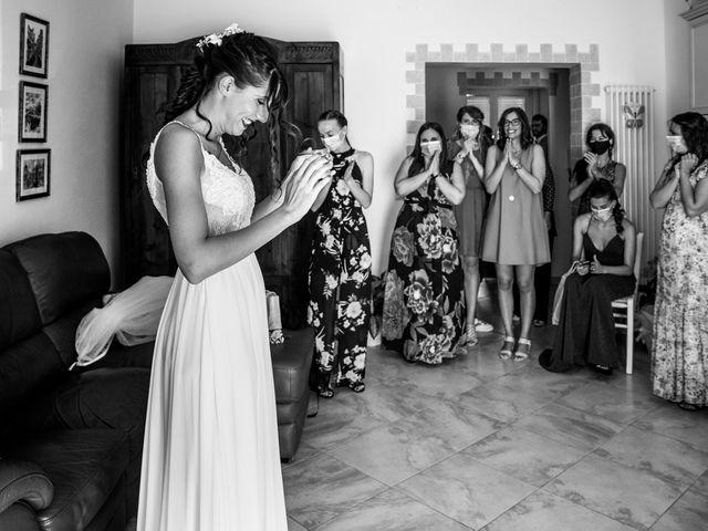 Il matrimonio di Filippo e Lucia a Corinaldo, Ancona 2
