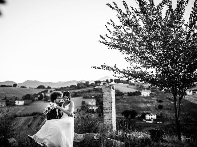 Il matrimonio di Filippo e Lucia a Corinaldo, Ancona 23