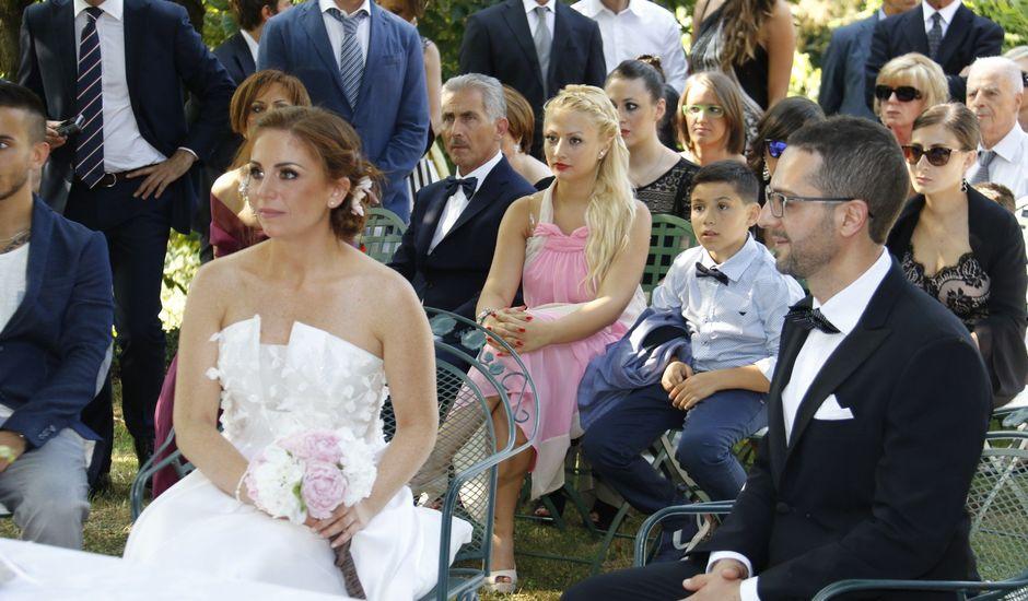 Il matrimonio di Davide e Ornella a Moncrivello, Vercelli