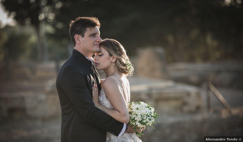 Il matrimonio di Alessandro e Giuliana a Agrigento, Agrigento