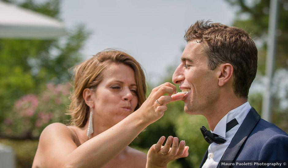 Il matrimonio di Matteo e Alessia a Brunello, Varese