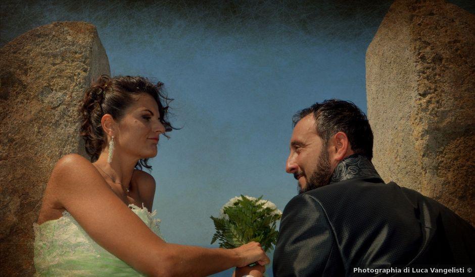 Il matrimonio di Francesco e Lucia a Campiglia Marittima, Livorno