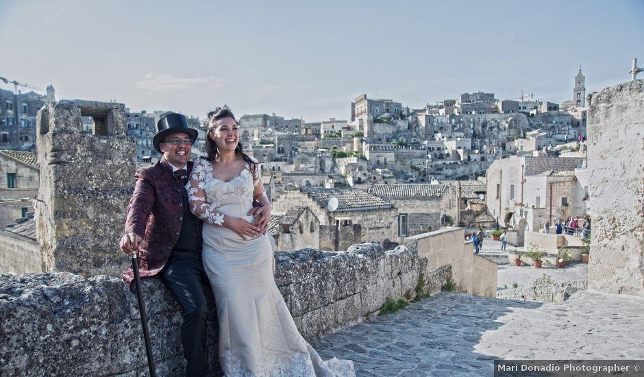 Il matrimonio di Daniele e Maria Pina a Gallicchio, Potenza