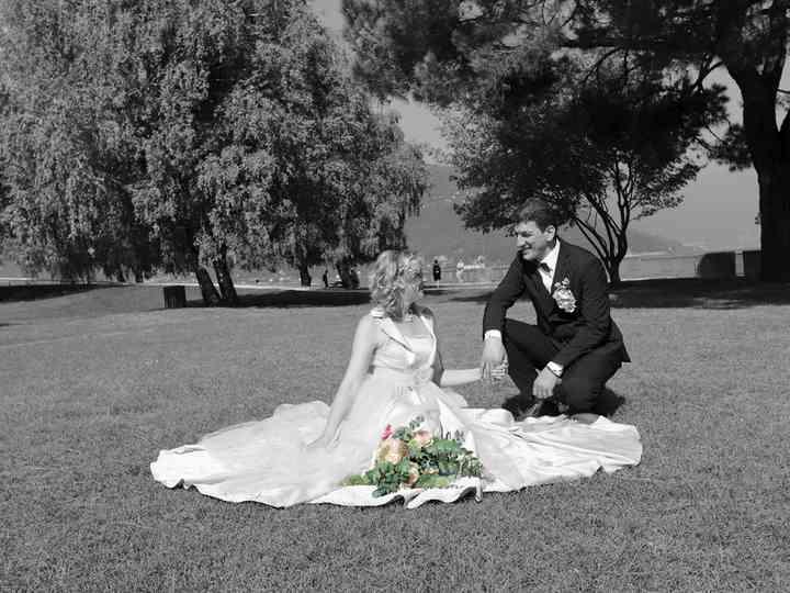 le nozze di Irina e Christian