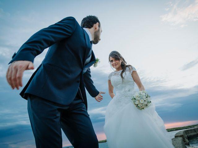 le nozze di Serena e Massimiliano