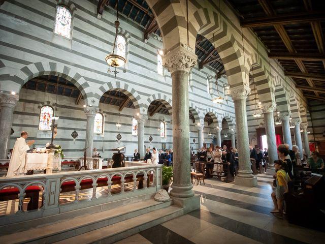 Il matrimonio di Fabrizio e Eva a Pisa, Pisa 1