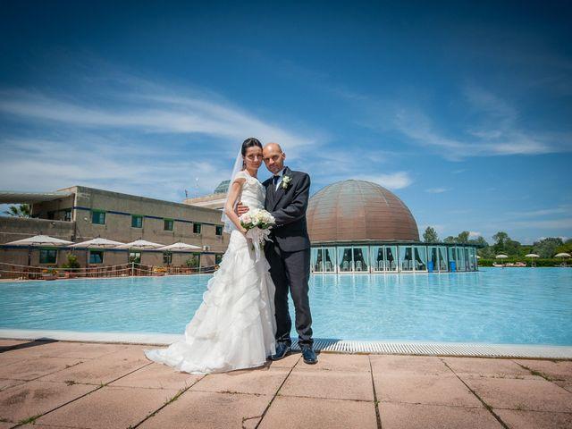 Le nozze di Eva e Fabrizio