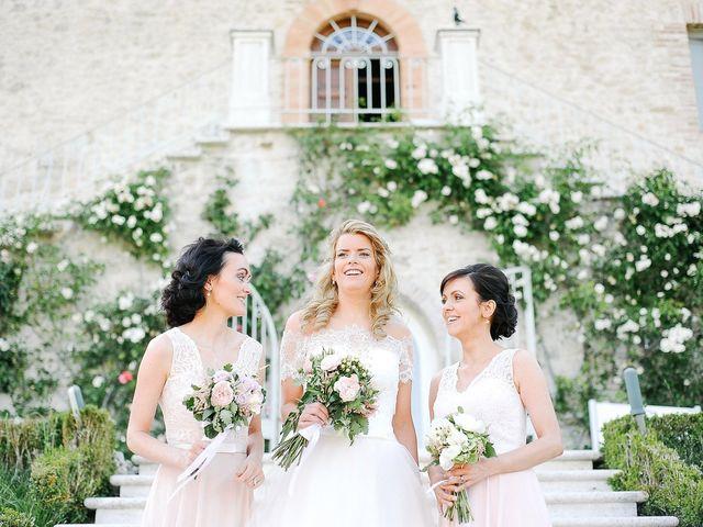 Il matrimonio di Paul e Miriam a Massa Martana, Perugia 11