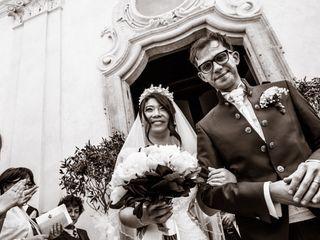 Le nozze di Anqi e Simone