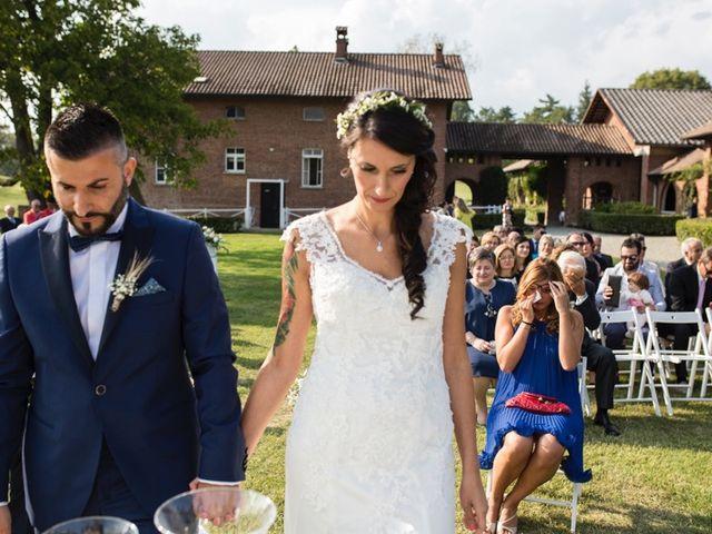 Il matrimonio di Carmine e Elena a Cerrione, Biella 31