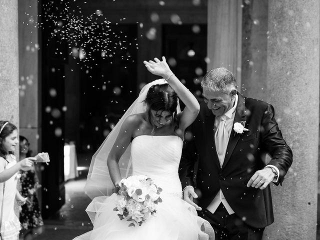 le nozze di Veronica e Fabrizio