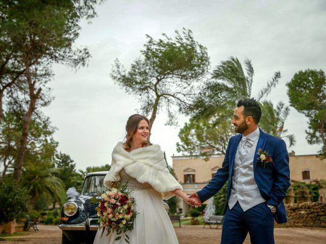 Il matrimonio di Alessio e Ornella a Veglie, Lecce 11