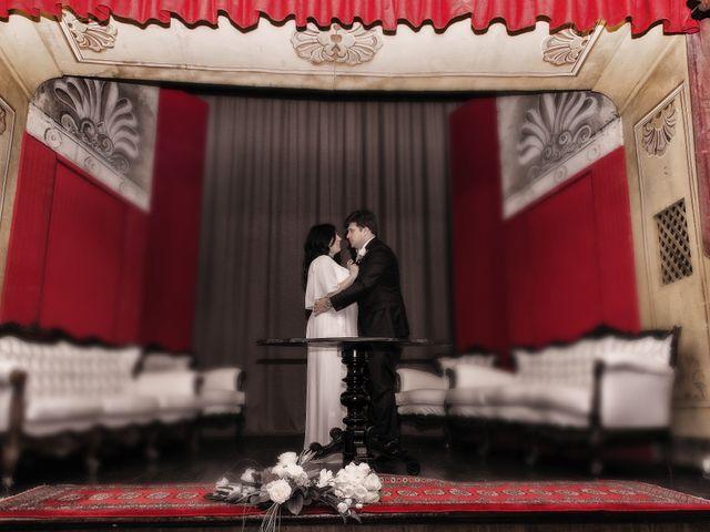 Le nozze di Melania e Massimiliano