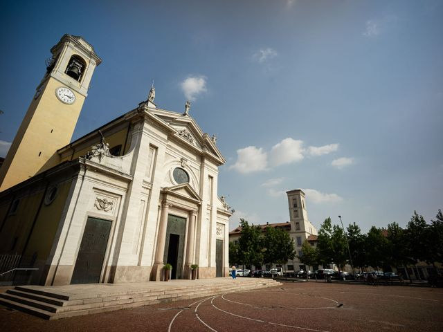 Il matrimonio di Alessandro e Jessica a Parabiago, Milano 16