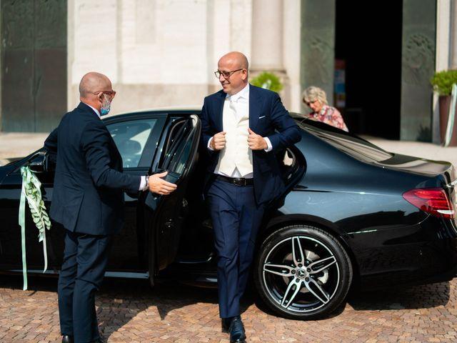 Il matrimonio di Alessandro e Jessica a Parabiago, Milano 17