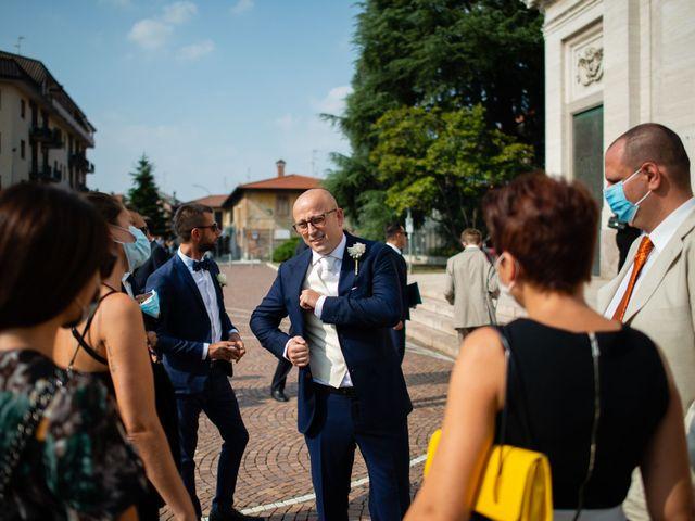 Il matrimonio di Alessandro e Jessica a Parabiago, Milano 19
