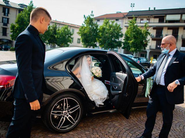 Il matrimonio di Alessandro e Jessica a Parabiago, Milano 25