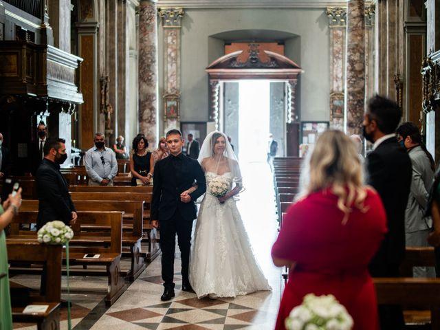 Il matrimonio di Alessandro e Jessica a Parabiago, Milano 27