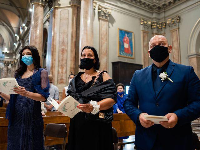 Il matrimonio di Alessandro e Jessica a Parabiago, Milano 30