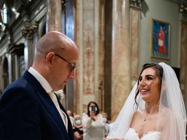 Il matrimonio di Alessandro e Jessica a Parabiago, Milano 41