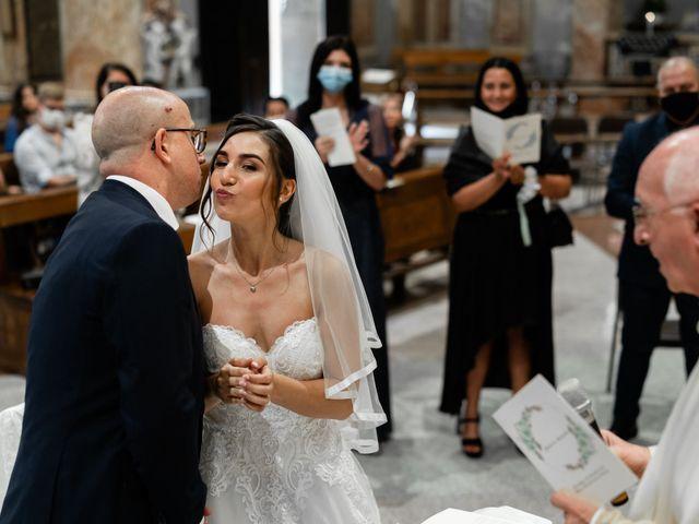Il matrimonio di Alessandro e Jessica a Parabiago, Milano 42